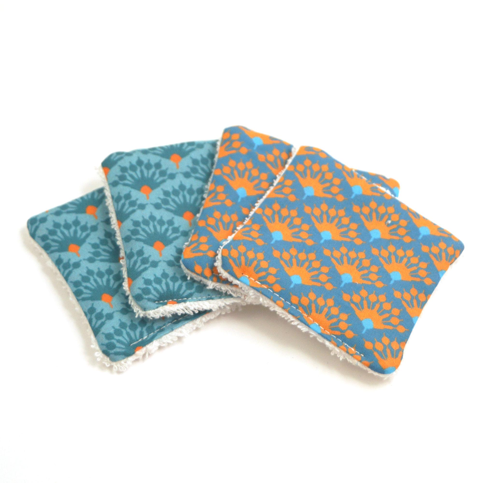 Abschmickpads 4er Pack blau