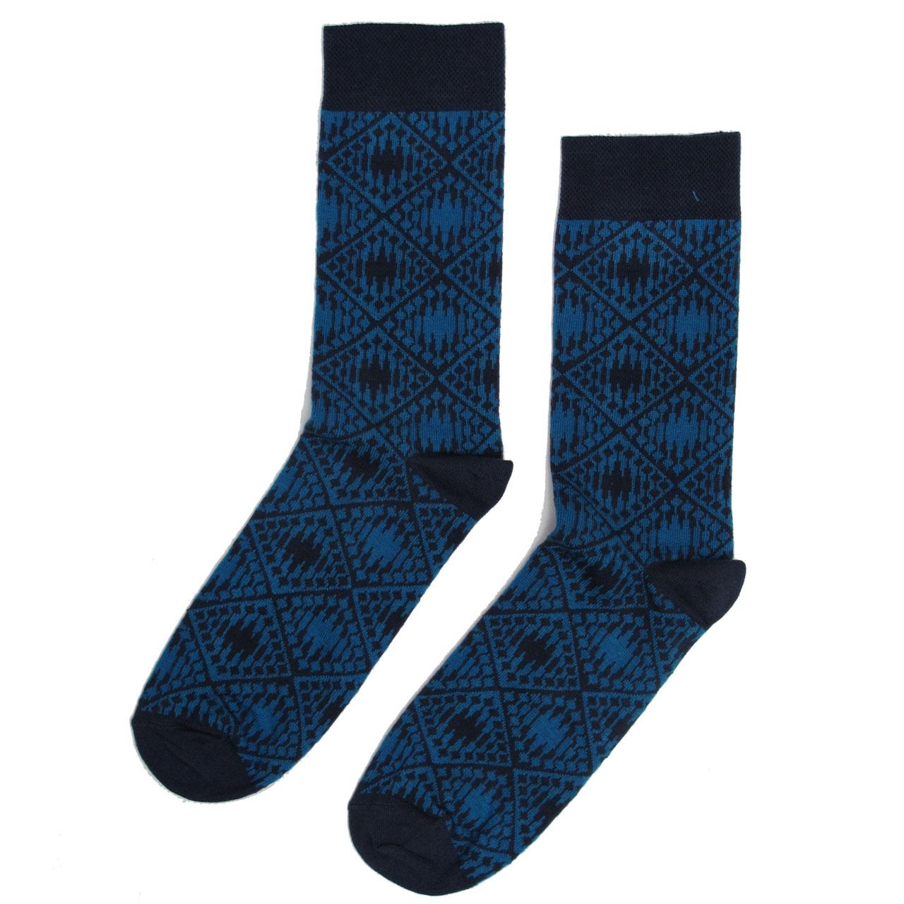 Berlin Design Socken Fernsehturm blau/marinblau