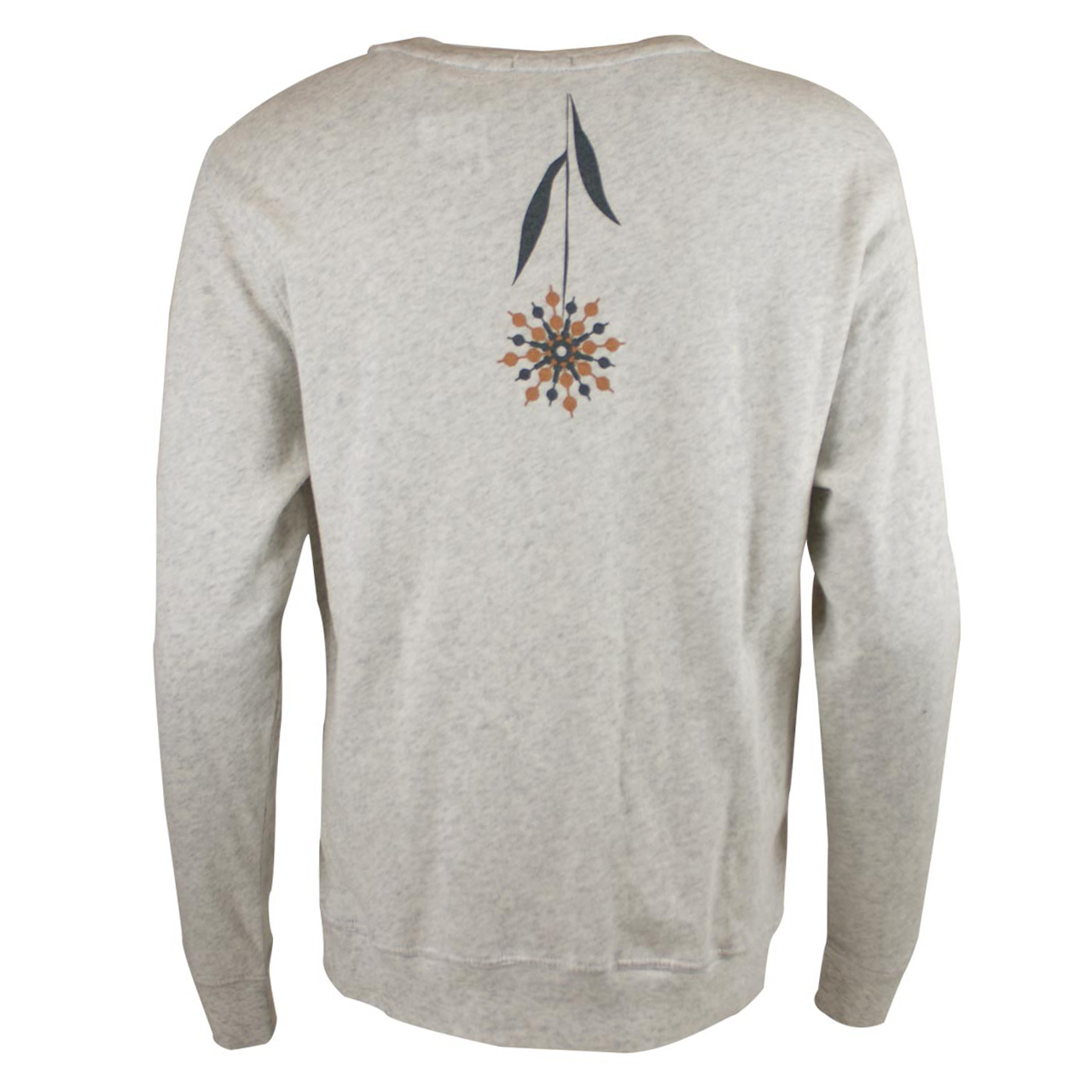 Sweatshirtt Fernsehturm Blumen hell-grau