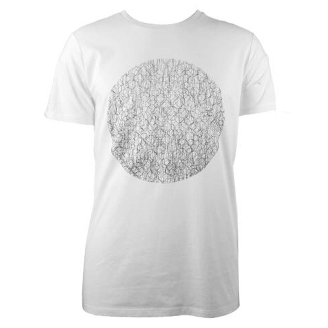 T-Shirt Fernsehturm Kreis This City Rocks men weiß/schwarz