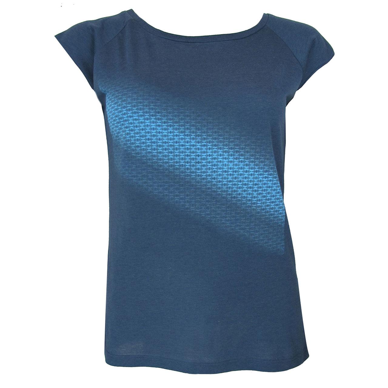 Berlin T-Shirt Verlauf Diagonal girls blau/blau