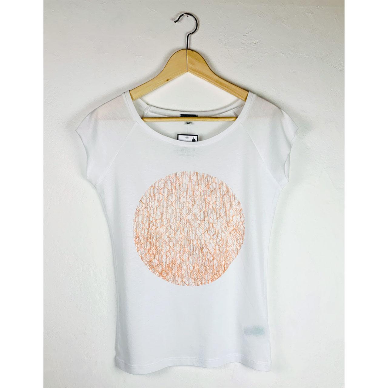 Berlin Design T-Shirt Fernsehturm Kreis nude