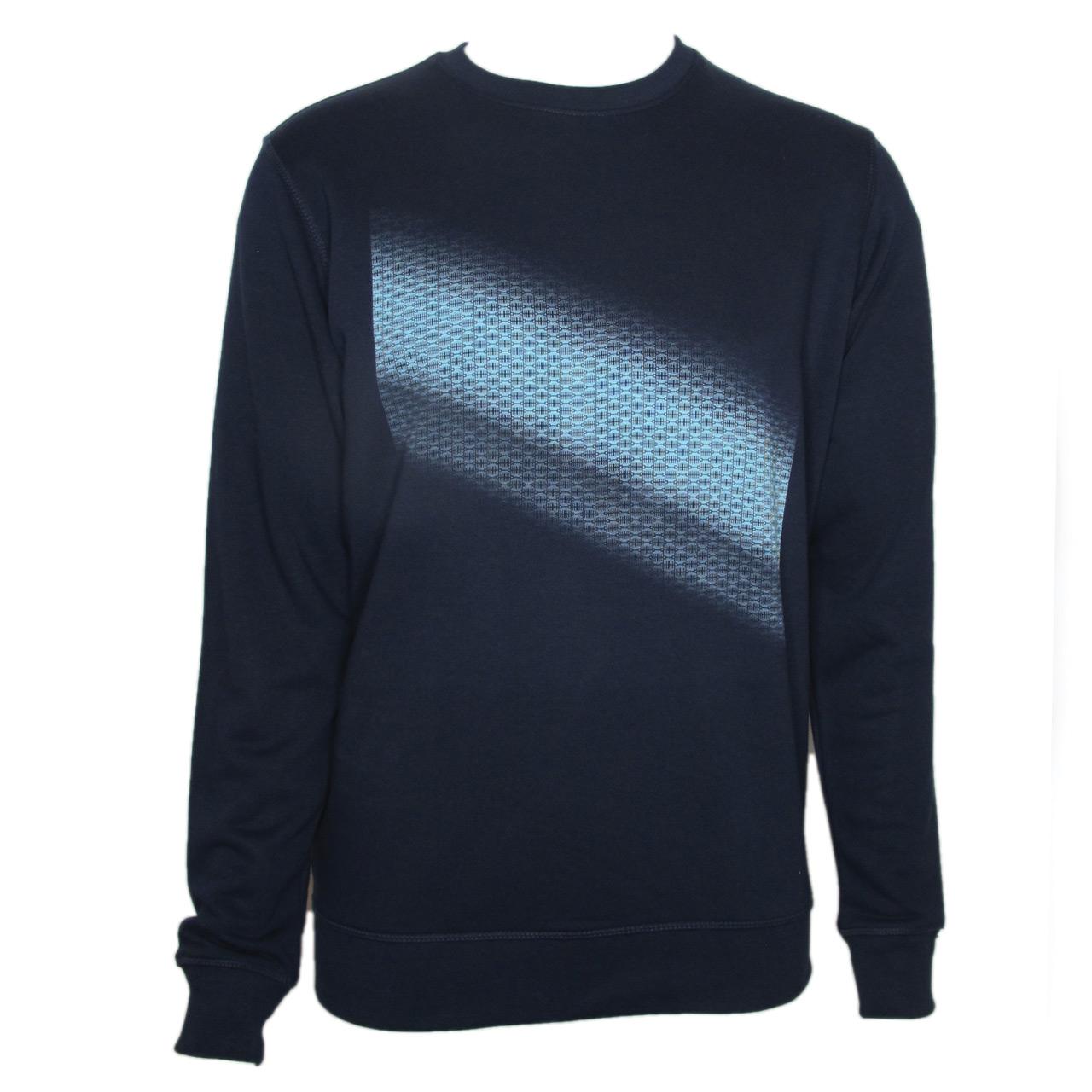 Berlin Sweatshirt Brandenburger Tor Diagonal blau