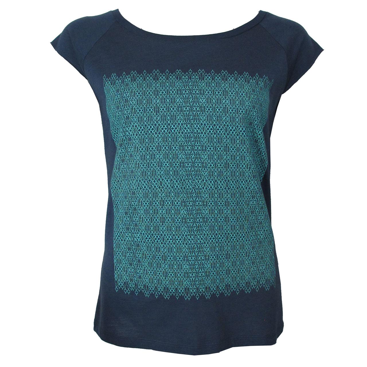 Berlin T-Shirt Fernsehturm blau/mint