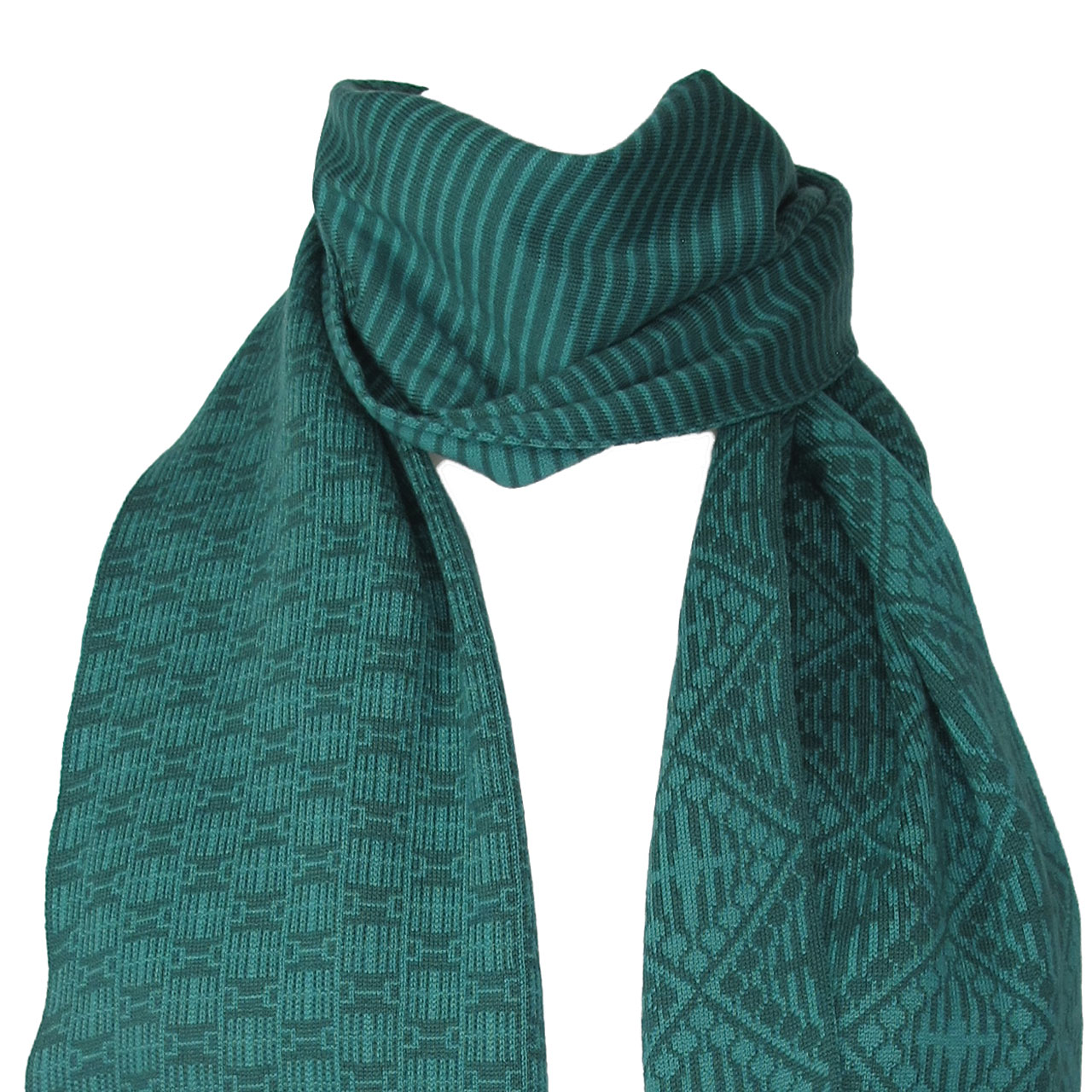 Berlindesign Schal This City Rocks mix Muster mint