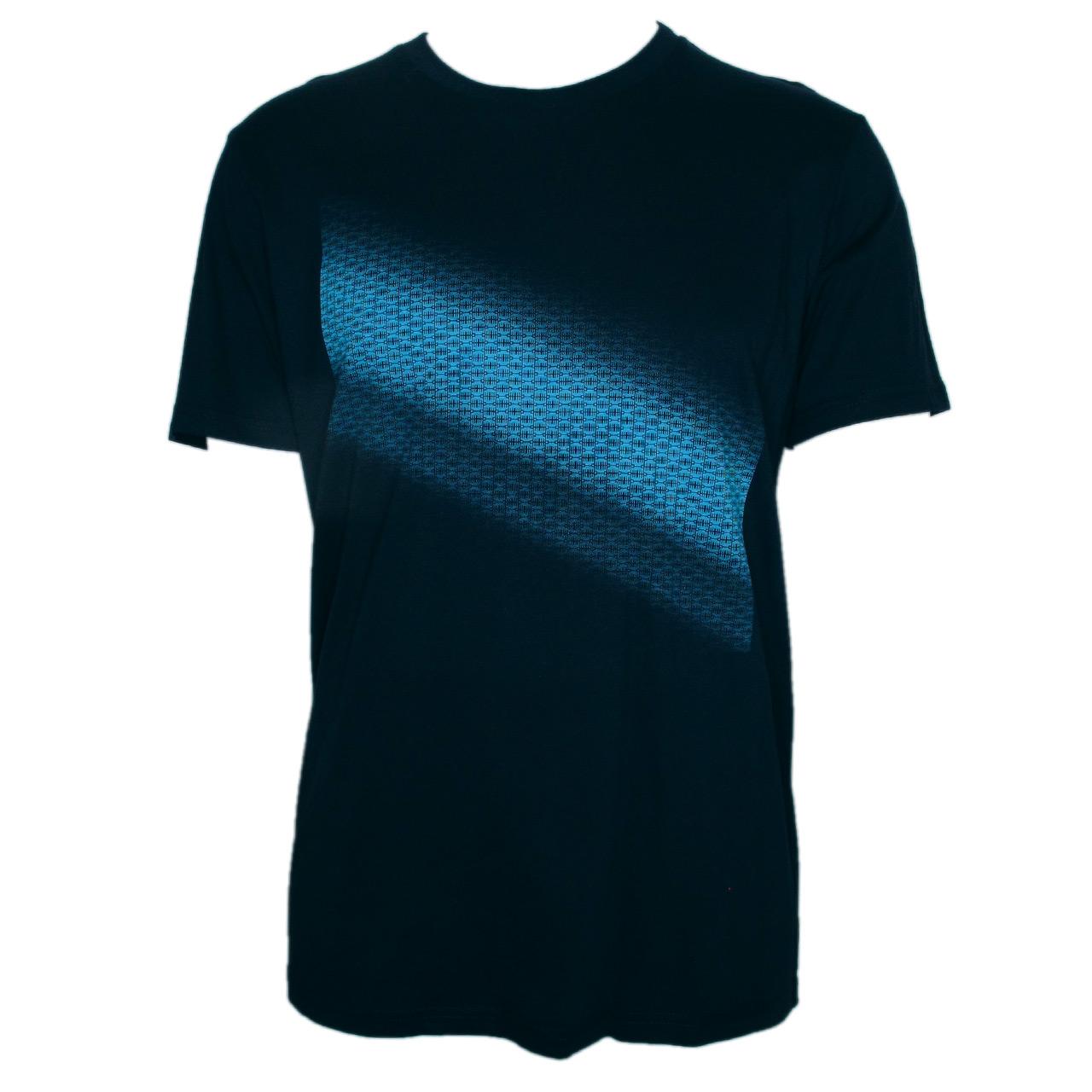 Berlin Design T-Shirt Farbverlauf men marineblau/blau
