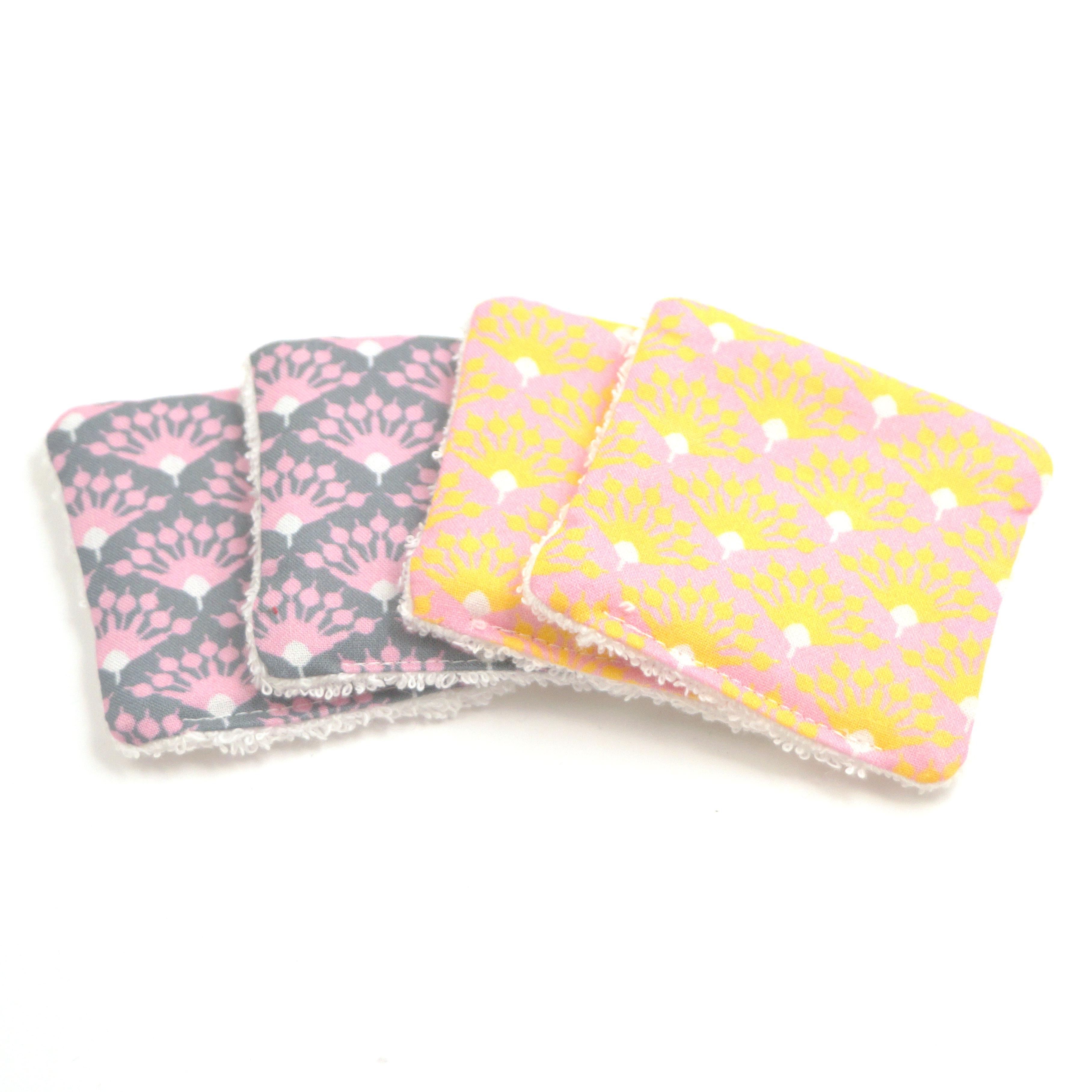 Abschmickpads 4er Pack rosa