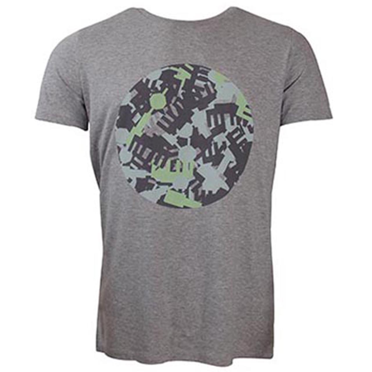 Berlin T-Shirt Kreis Camouglage hell-grau/grün