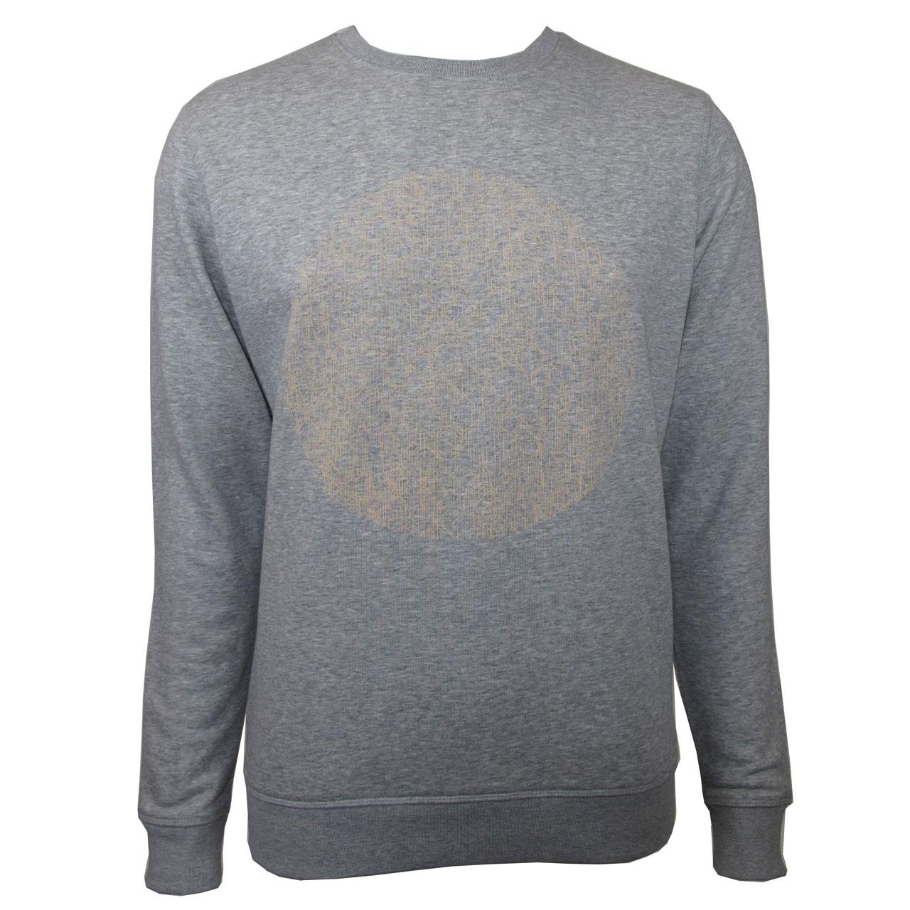 Berlin Design Sweatshirt Fernsehturm Kreis grau/nude