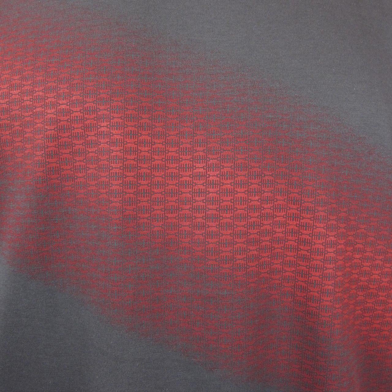 Berlin Design T-Shirt Brandenburger Tor men graui/rot