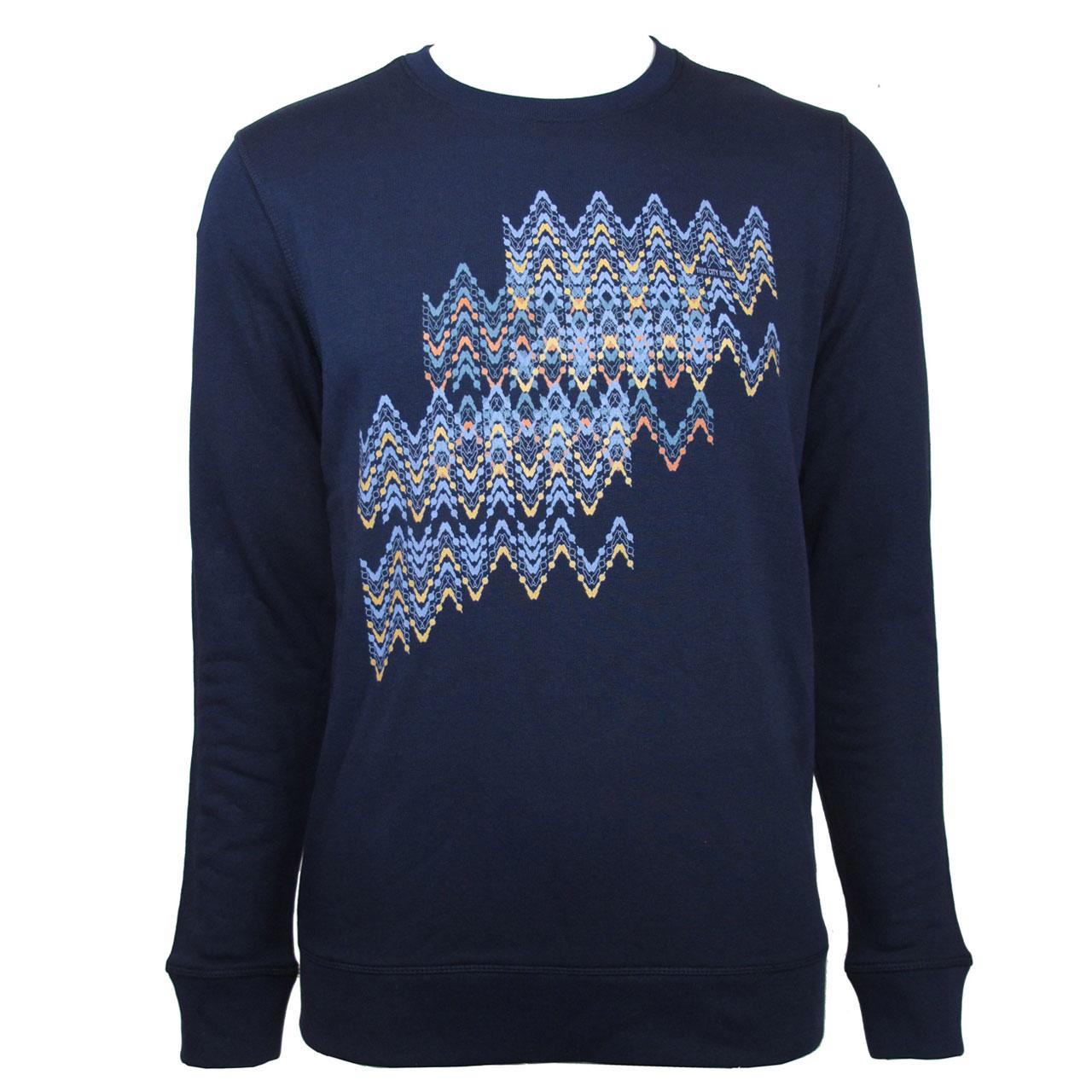 Berlin Design Sweatshirt Fernsehturm bunt