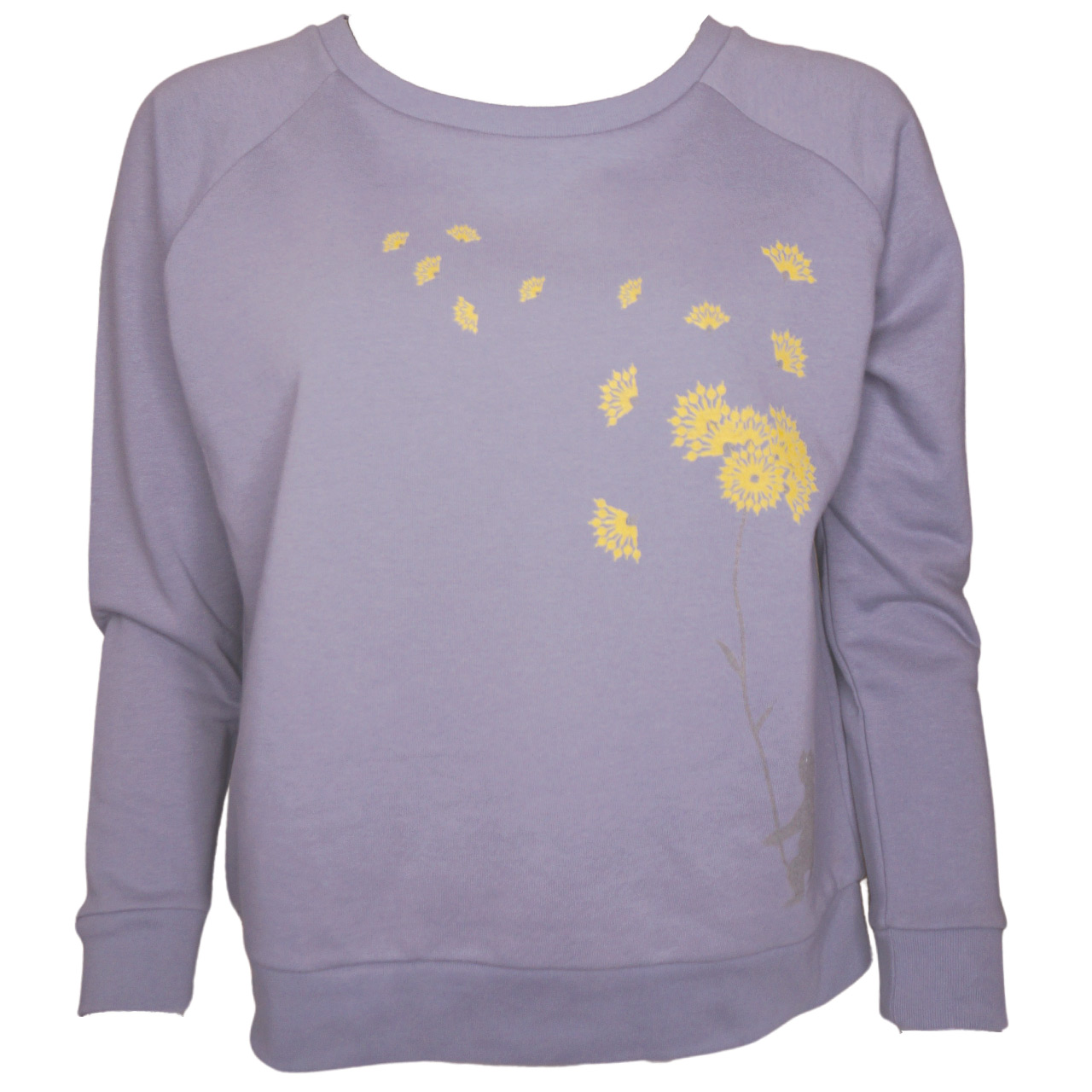 Sweatshirts mit Berlinprint Bär Blume