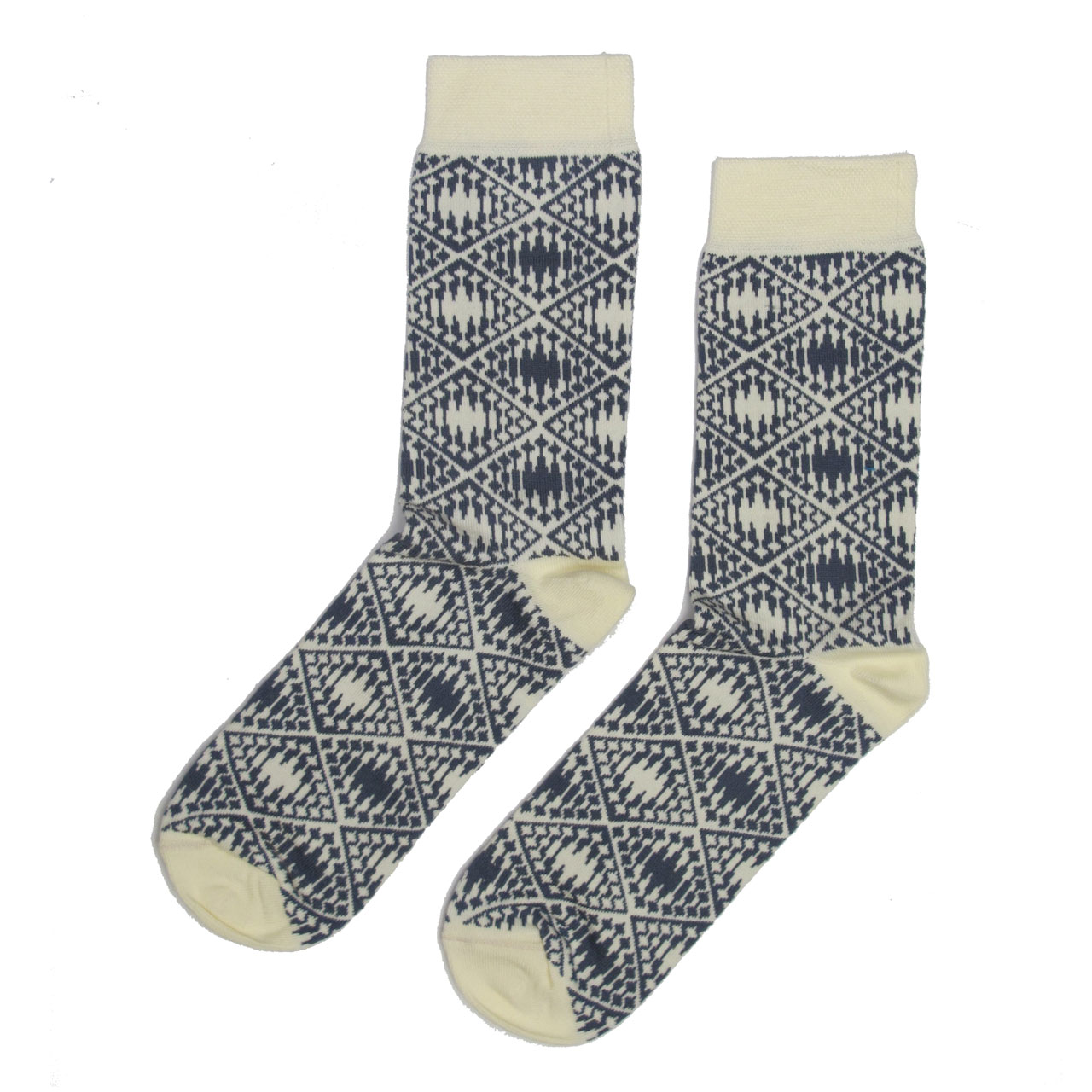 Berlin Design Socken, Fernsehturm creme/grau